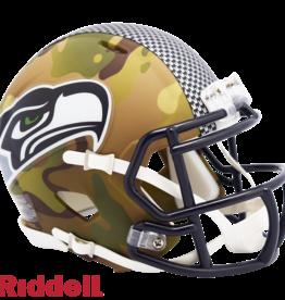RIDDELL Seattle Seahawks Riddell CAMO Alternate Mini Speed Helmet