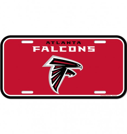 WINCRAFT Atlanta Falcons Plastic License Plate