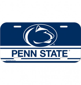 WINCRAFT Penn State Nittany Lions Plastic License Plate