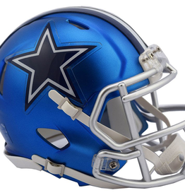 Dallas Cowboys Blaze Mini Speed Helmet