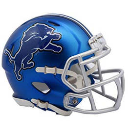 Detriot Lions Blaze Mini Speed Helmet