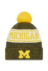 NEW ERA Michigan Wolverines New Era KnitBanner Knit Hat