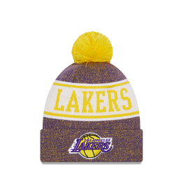 NEW ERA Los Angeles Lakers New Era KnitBanner Knit Hat