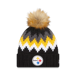 NEW ERA Pittsburgh Steelers New Era KnitGlacier Knit Hat