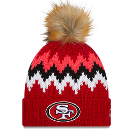 NEW ERA San Francisco 49ers New Era KnitGlacier Knit Hat
