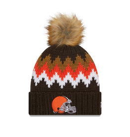 NEW ERA Cleveland Browns New Era KnitGlacier Knit Hat