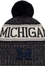 NEW ERA Michigan Wolverines New Era NE18 Sport Knit Hat