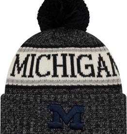 NEW ERA Michigan Wolverines New Era NE18 Sport Knit Hat