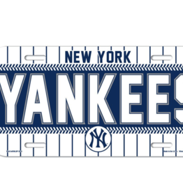 WINCRAFT New York Yankees Plastic License Plate