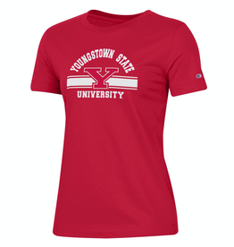 CHAMPION Youngstown State Penguins Women's Champion University Crew Tee