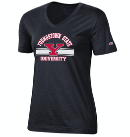 CHAMPION Youngstown State Penguins Women's Champion University V-Neck Tee