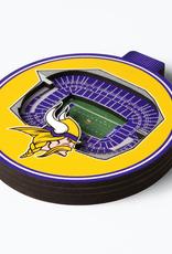 YOU THE FAN Minnesota Vikings 3-D StadiumView Ornaments