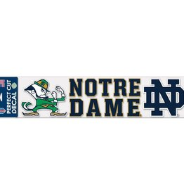 "WINCRAFT Notre Dame Fighting Irish 4""x17"" Perfect Cut Decals"