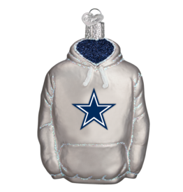 OLD WORLD CHRISTMAS Dallas Cowboys Hoodie Ornament