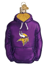 OLD WORLD CHRISTMAS Minnesota Vikings Hoodie Ornament