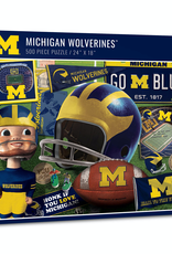YOU THE FAN Michigan Wolverines 500 Piece Puzzle