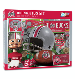 YOU THE FAN Ohio State Buckeyes 500 Piece Puzzle
