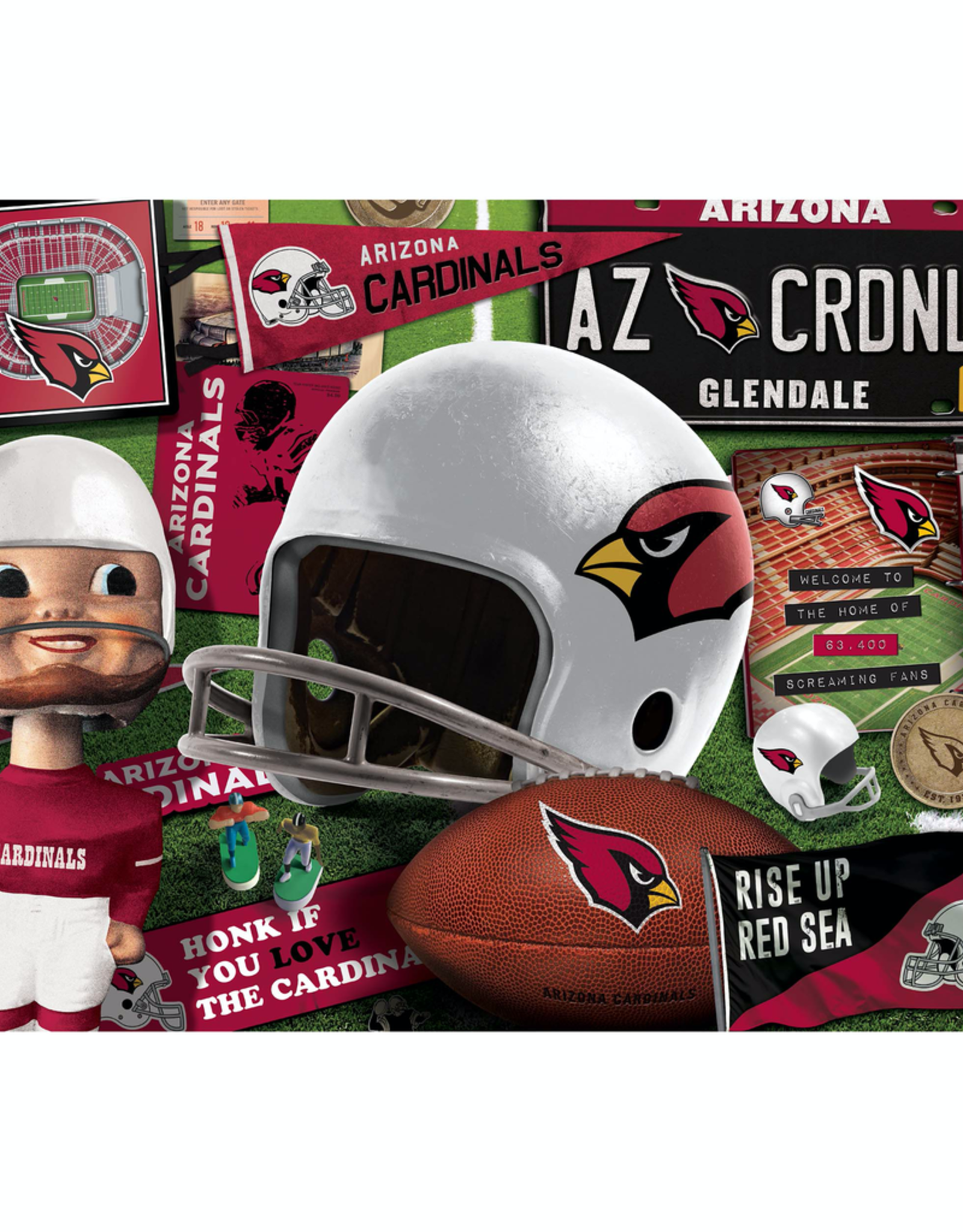 YOU THE FAN Arizona Cardinals 500 Piece Puzzle