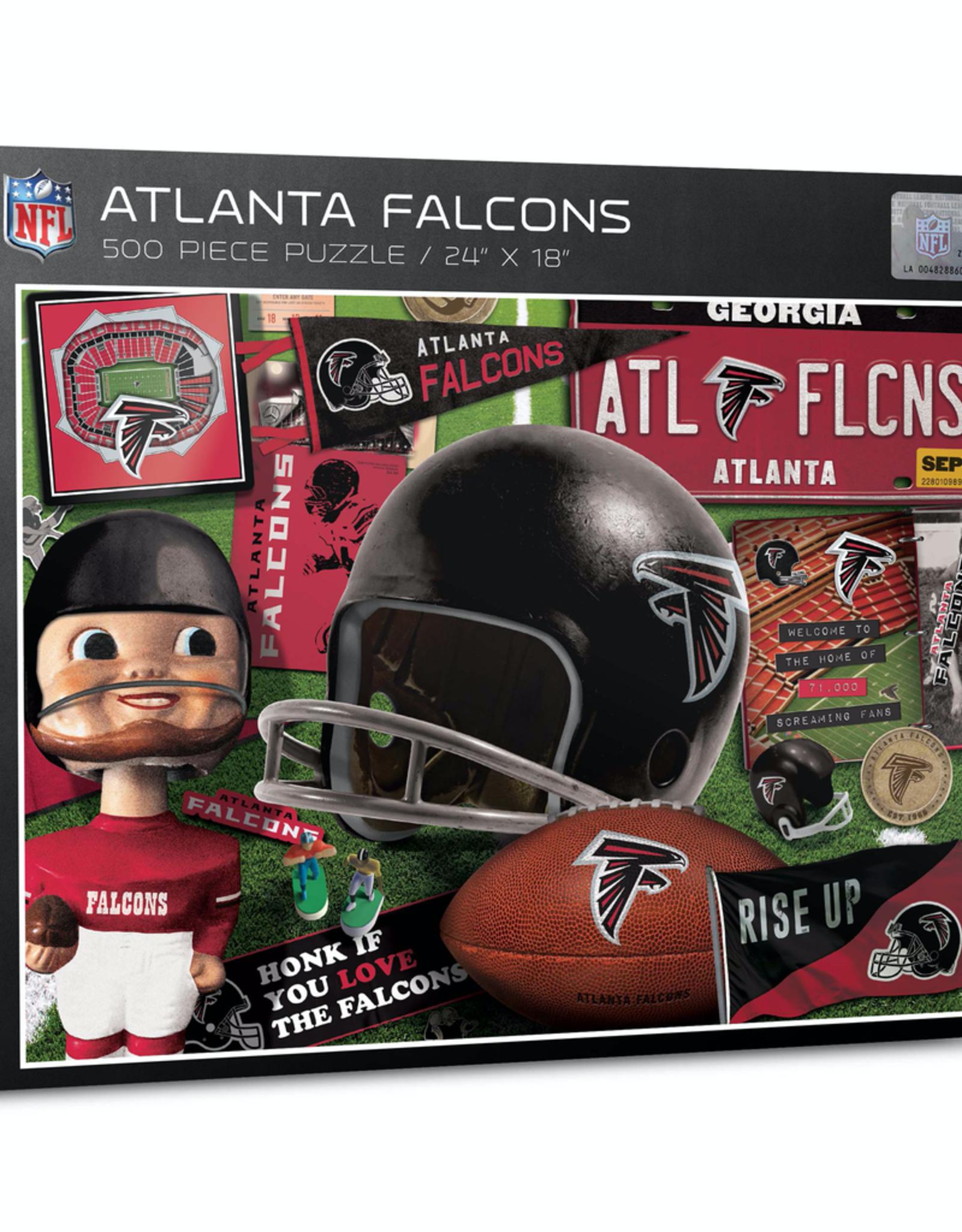 YOU THE FAN Atlanta Falcons 500 Piece Puzzle