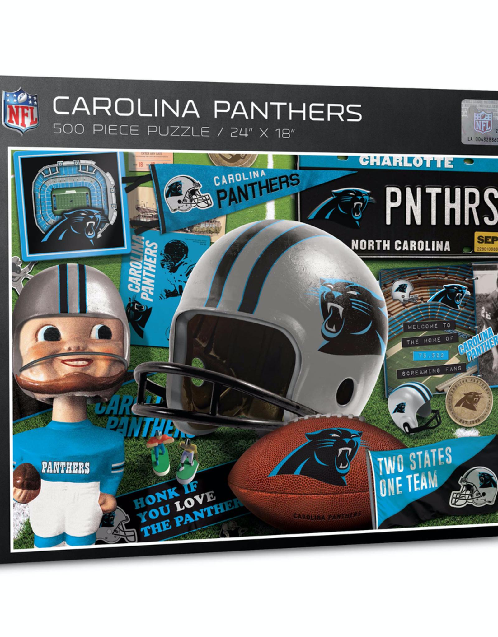 YOU THE FAN Carolina Panthers 500 Piece Puzzle