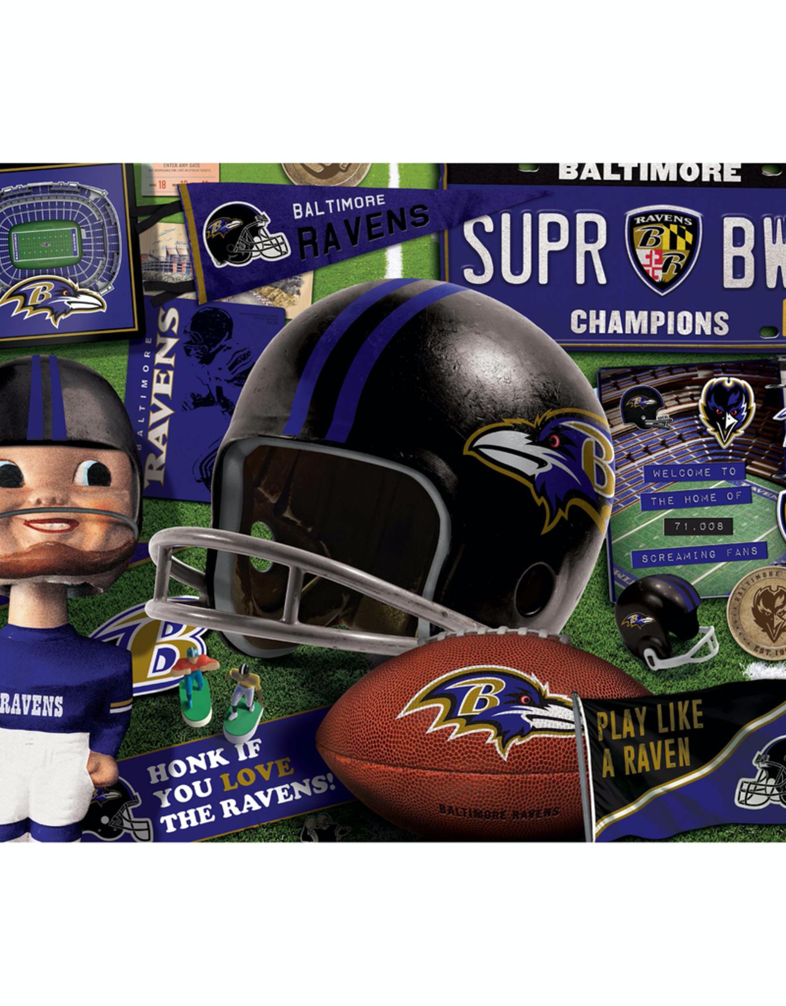 YOU THE FAN Baltimore Ravens 500 Piece Puzzle