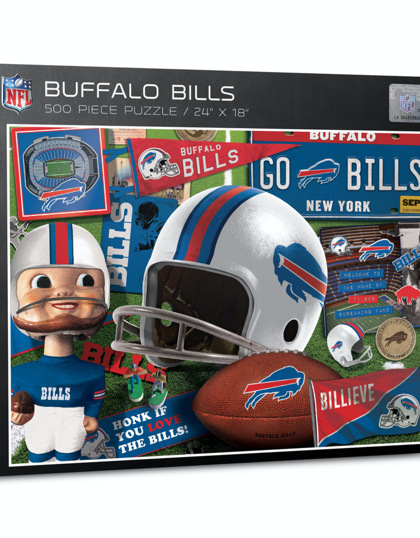 YOU THE FAN Buffalo Bills 500 Piece Puzzle