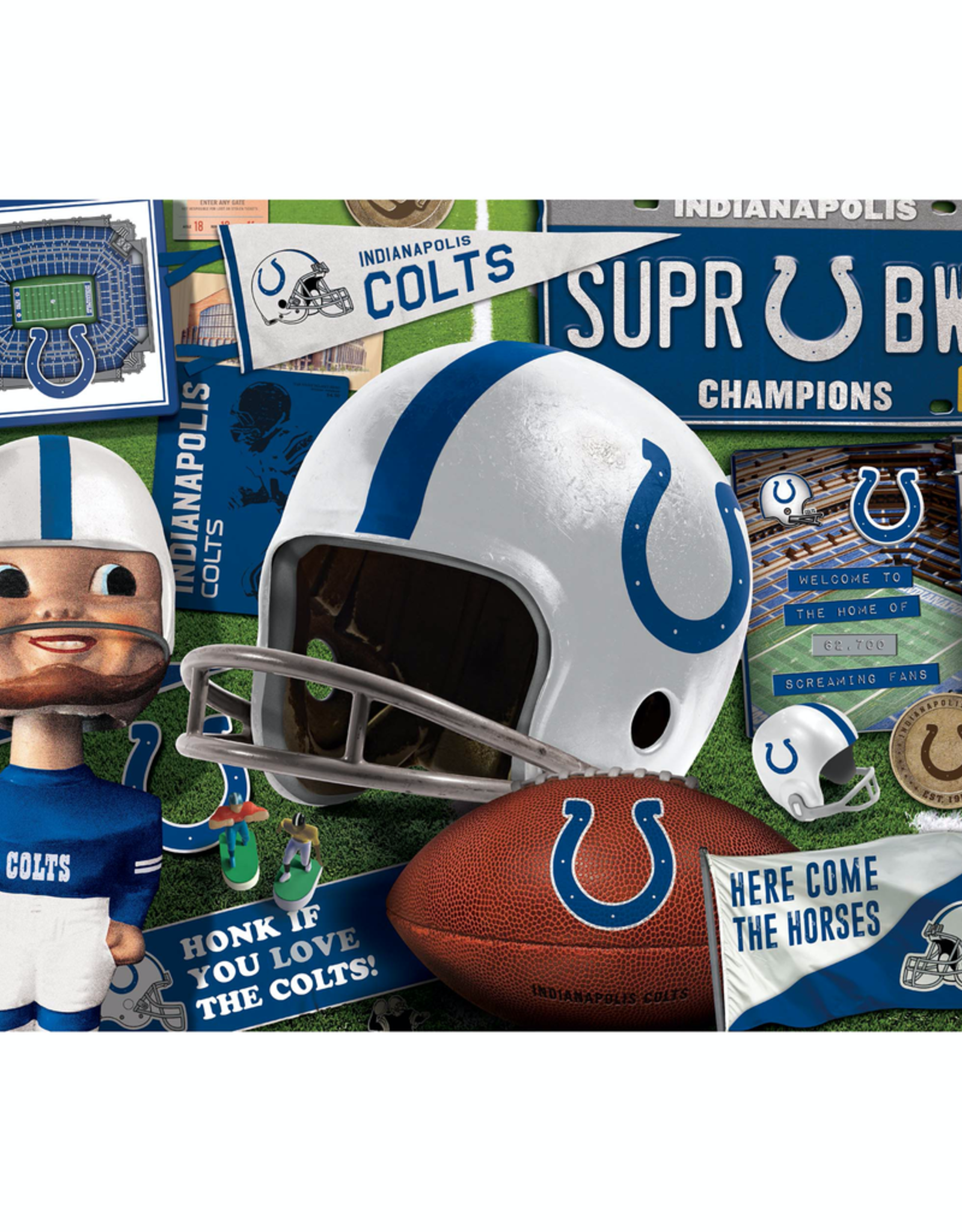 YOU THE FAN Indianapolis Colts 500 Piece Puzzle