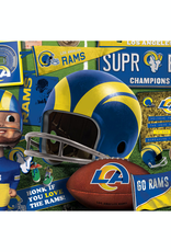 YOU THE FAN Los Angeles Rams 500 Piece Puzzle