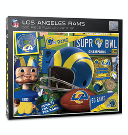 YOU THE FAN Los Angeles Rams 500 Piece Puzzle