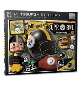 YOU THE FAN Pittsburgh Steelers 500 Piece Puzzle