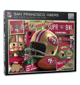 YOU THE FAN San Francisco 49ers 500 Piece Puzzle