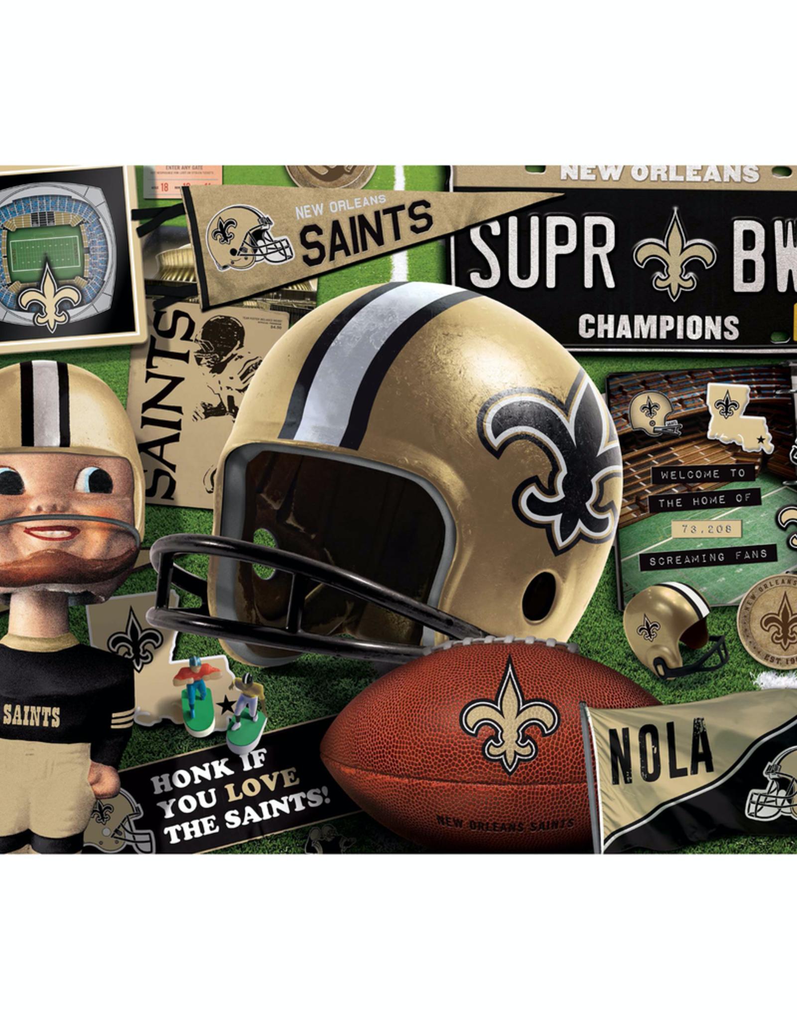 YOU THE FAN New Orleans Saints 500 Piece Puzzle