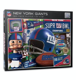 YOU THE FAN New York Giants 500 Piece Puzzle