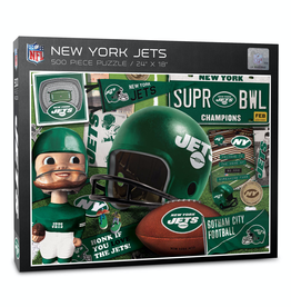 YOU THE FAN New York Jets 500 Piece Puzzle