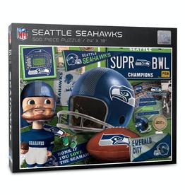YOU THE FAN Seattle Seahawks 500 Piece Puzzle