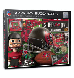 YOU THE FAN Tampa Bay Buccaneers 500 Piece Puzzle