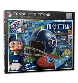 YOU THE FAN Tennessee Titans 500 Piece Puzzle