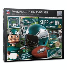 YOU THE FAN Philadelphia Eagles 500 Piece Puzzle