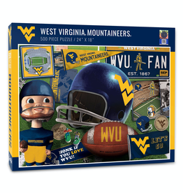 YOU THE FAN West Virginia Mountaineers 500 Piece Puzzle