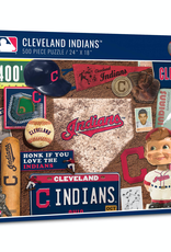 YOU THE FAN Cleveland Indians 500 Piece Puzzle