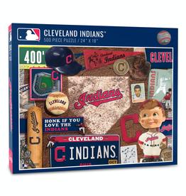 YOU THE FAN Cleveland Indians 500 Piece Puzzle