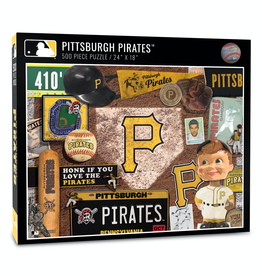 YOU THE FAN Pittsburgh Pirates 500 Piece Puzzle