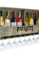 IMPERIAL New England Patriots Reclaimed Bar Rack