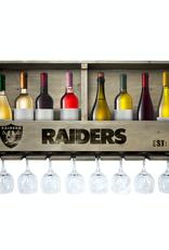 IMPERIAL Las Vegas Raiders Reclaimed Bar Rack