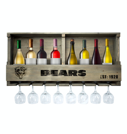 IMPERIAL Chicago Bears Reclaimed Bar Rack