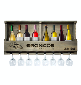IMPERIAL Denver Broncos Reclaimed Bar Rack