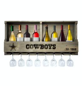 IMPERIAL Dallas Cowboys Reclaimed Bar Rack