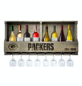 IMPERIAL Green Bay Packers Reclaimed Bar Rack