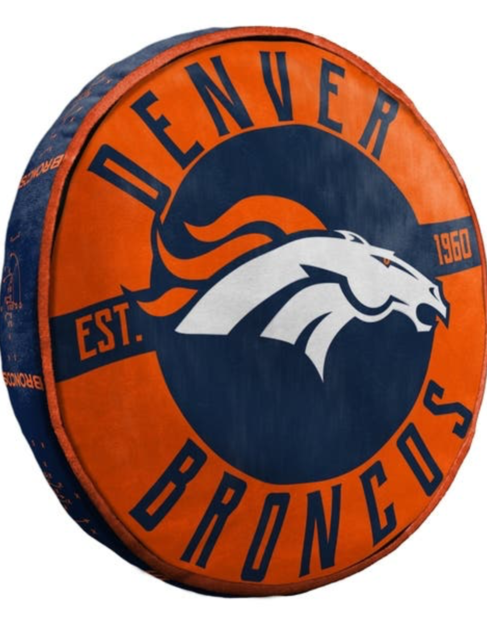 "Denver Broncos 15"" Cloud Pillow"