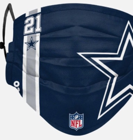FOREVER COLLECTIBLES Dallas Cowboys On Field Sideline Face Mask